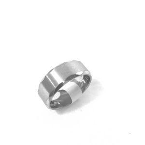 Stainless Steel 8mm Men's Ring